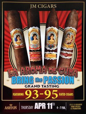 La Aroma De Cuba – Bring the Passion